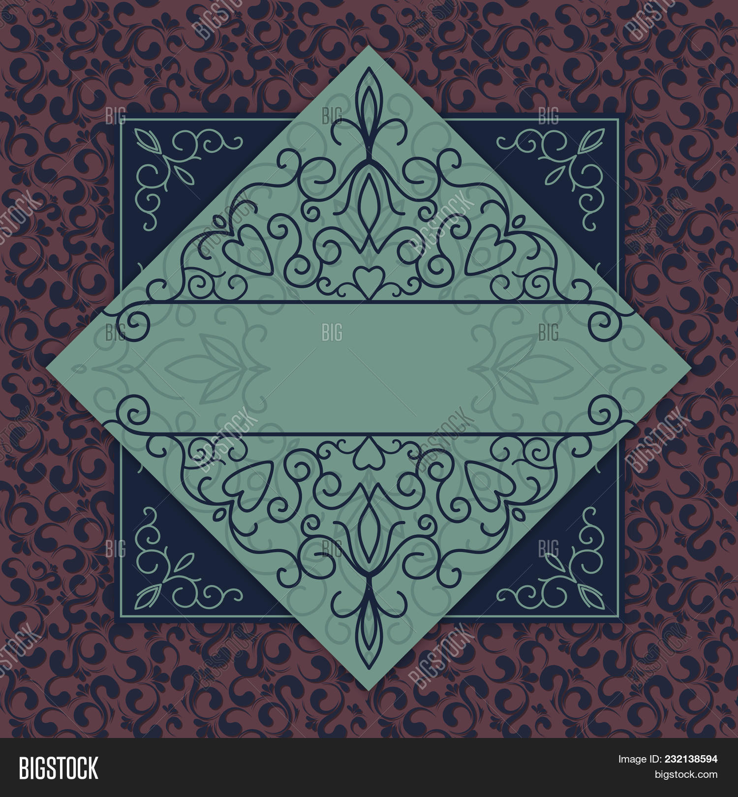 Vintage Background Vector Photo Free Trial Bigstock
