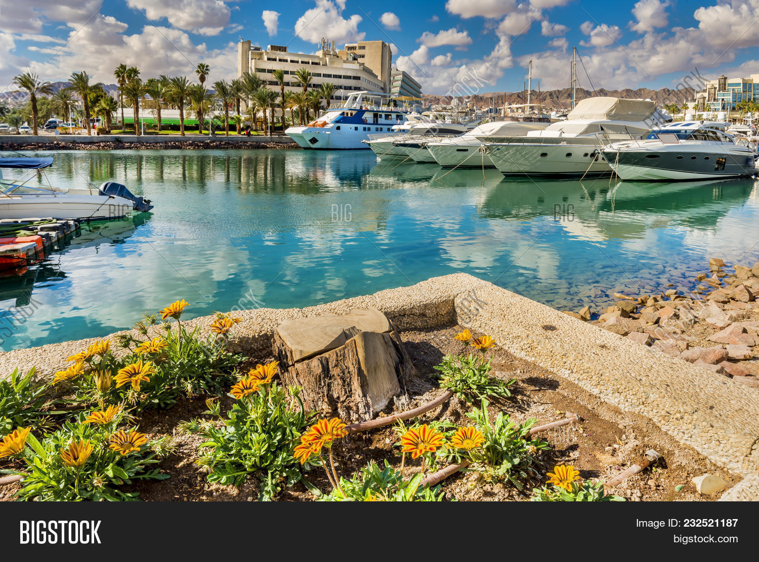 Moored Pleasure Boats Image & Photo (Free Trial) | Bigstock