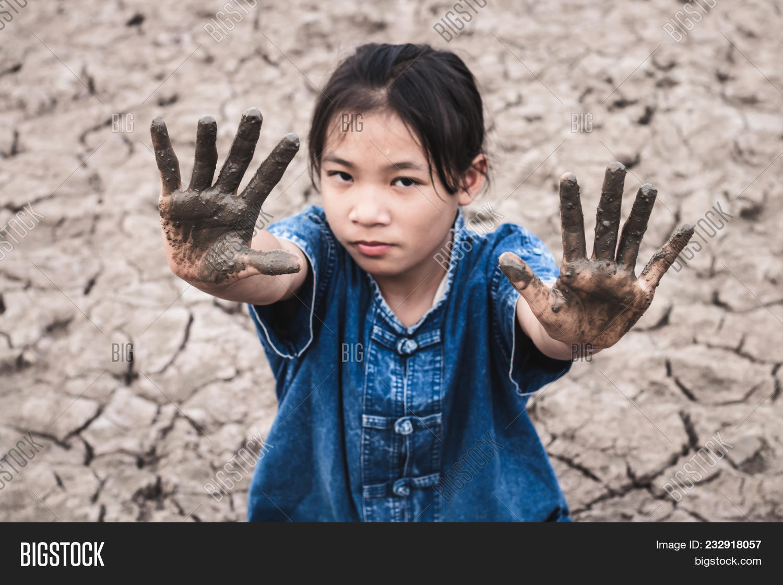 Women On Arid Soil Hot Image & Photo (Free Trial) | Bigstock