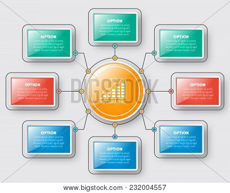 Vector Abstract 3d Paper Infographic Elements.business Infographics.element For Infographic Chart
