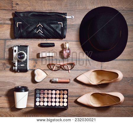 Woman Beauty Accessories Set