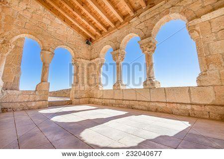 Corner Archs In Church Virgin Rivero In San Esteban De Gormaz