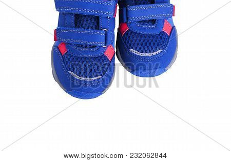 Baby Sneakers Close-up.