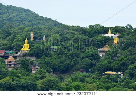 The Temple Of Wat Tham Yai Prik Was First, In 1970, A Single House In A Limestone Cave. Then Over Th