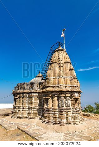 Jain Mandir, A Temple On Pavagadh Hill - Gujarat State Of India