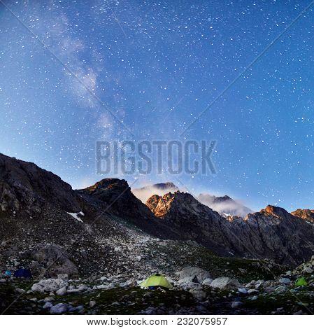 Mountains Of The Caucasus Range Arkhyz, Sofia Lake, Climbing Mountains, Hiking And Hiking. Fabulous