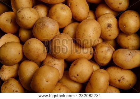 Goodly New Potatoes, Vegetable, Market Food Environment