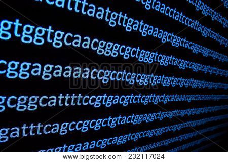 Sequencing The Genome. Background On The Subject Of Dna Sequencing, Symbols Of Nucleotide Bases On T