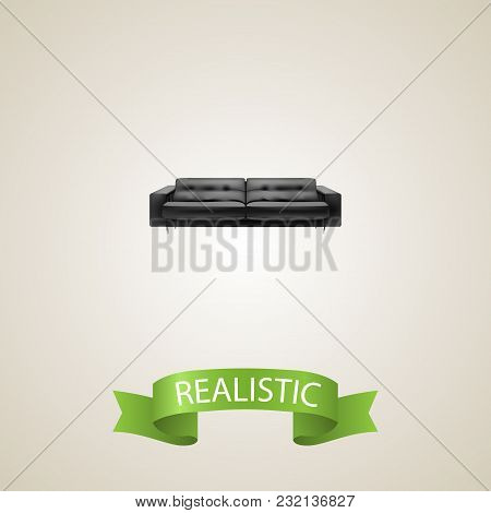 Lounge Realistic Element.  Illustration Of Lounge Realistic Isolated On Clean Background For Your We