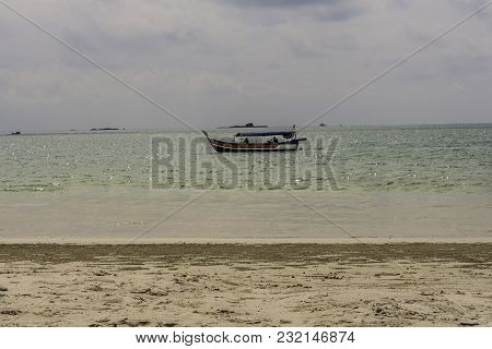 The Beach Of Cenang On The Island Of Langkawi Is Adjacent To The Town Of The Same Name And Is Very B