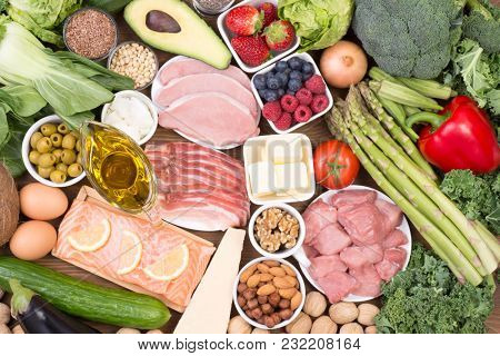Food recomended on low carb diet or ketogenic diet
