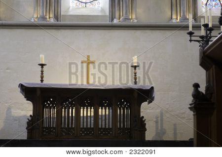 University Of Cambridge, Jesus College, Chapel Altar
