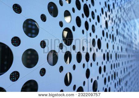 Led Media Facade Close Up, Led Light, Exterior Facade Light, Led Pixels Architectural Media Lights,