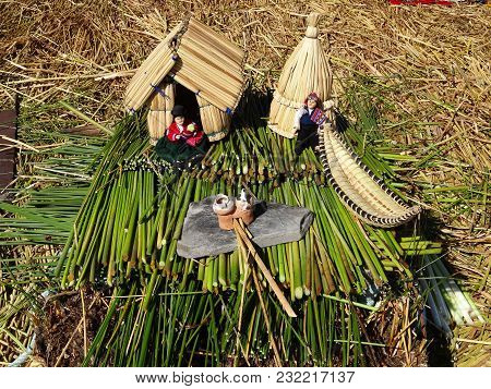 Small Uru House For Sale On The Titicaca Lake Peru