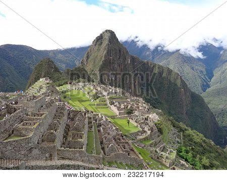 Machu Picchu Peru South America A Unesco World Heritage Site