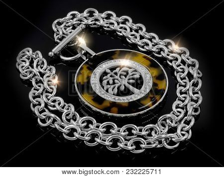 Necklace - The Tree Of Life Theme - Stainless Steel