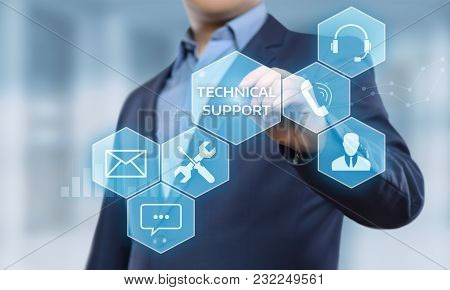 Technical Support Customer Service Business Technology Internet Concept.