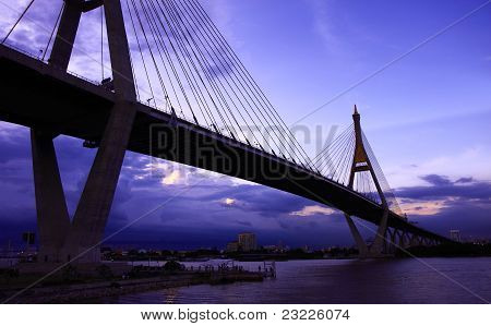 Industrial ring bridge of Thailand