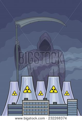 The Ghost Of Death Wanders About The Atomic Power Station.