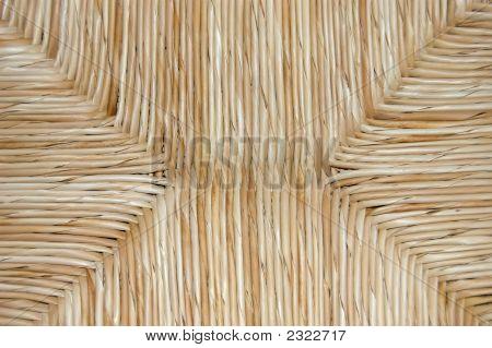 Straw Seat Texture