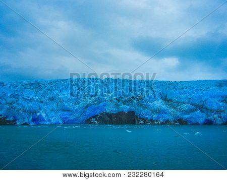 Part Of The Glacier In The Bernardo O Higgins National Park Chile South America