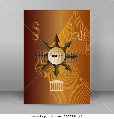 Justice Law Theme Design Element For Infographic02