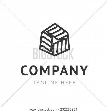 Creative Company Logo Design. Trendy Symbol For Business Branding. Vector Illustration Of Corporate