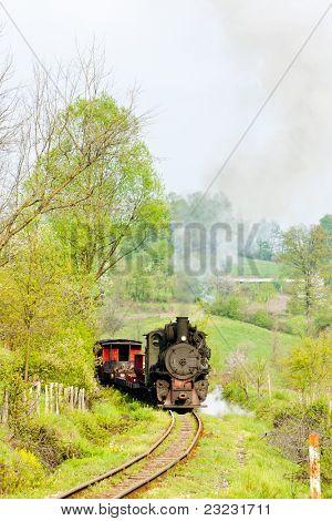 narrow gauge railway, Banovici, Bosnia and Hercegovina poster