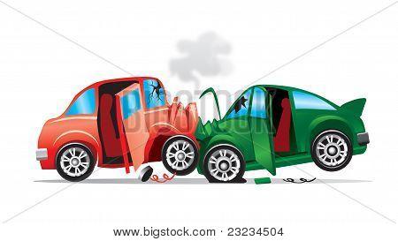2 Car Crashed