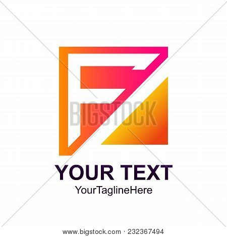 initial letter f logo vector photo free trial bigstock
