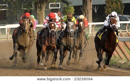 Havre De Grace Wins The 2011 Woodward Stakes
