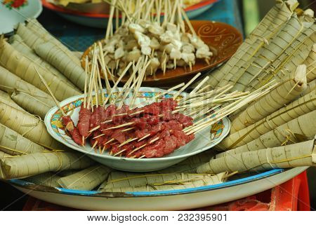 Sate Typical Lombok Called