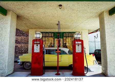 A Little Gas Station In Northern Wisconsin.