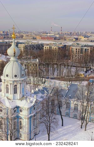 St. Petersburg Is A City Of Russia, The Center Of Culture Of Architecture And Art, Located On The Is