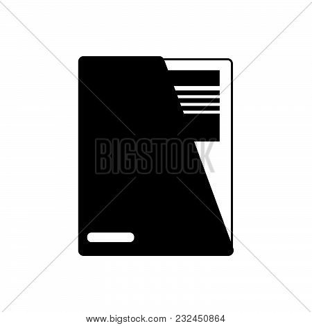 Document Vector Icon On White Background. Document Modern Icon For Graphic And Web Design. Document
