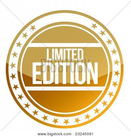 Limited edition stamp illustration design