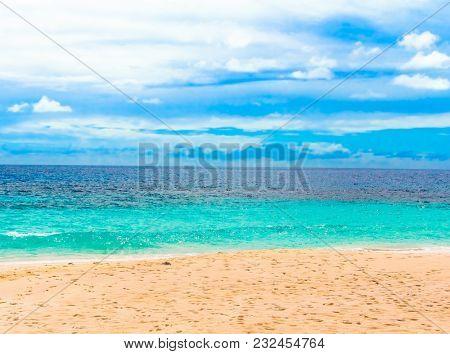 Beach Tide Splashing