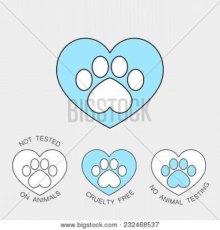 Symbol Blue Heart Vector Photo Free Trial Bigstock
