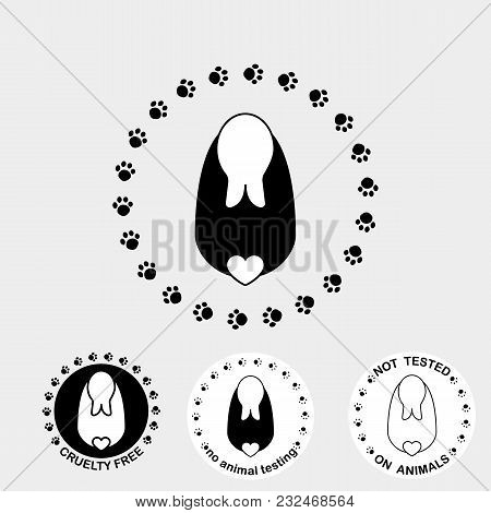 Symbol Paw Prints Vector Photo Free Trial Bigstock
