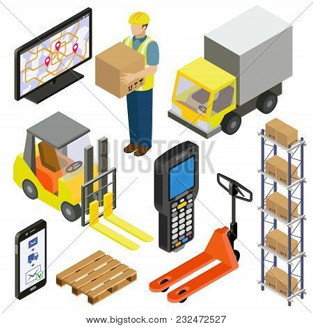Provision Of Warehouse Services, Logistics, Delivery. Isometry