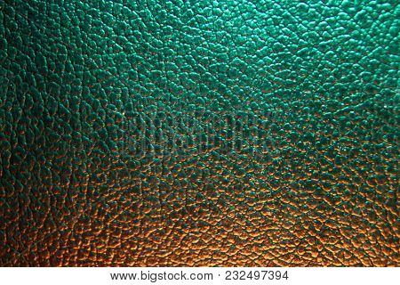 Excellent Color, Leather Background, Texture, Close Up