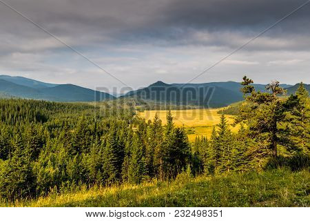 Wide Open Spaces, Sibbald Lake Provincial Recreation Area, Alberta, Canada
