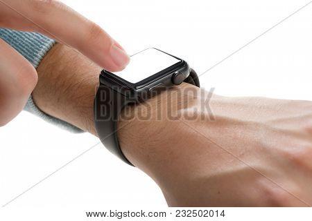 Smart Watch Isolated