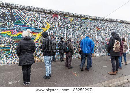 Berlin Wall In Berlin City, Germany