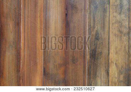 Blank Vintage Old Wood Texture Background, Brown Color, Seamless Pattern