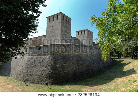 towers of Baba Vida a medieval fortress in Vidin, Bulgaria
