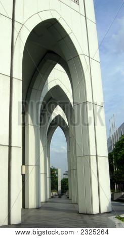 Under One Building-The Straight Arches.