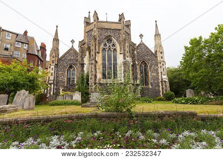 12th Century Romanian Style Church Of St Mary The Virgin, Dover, United Kingdom