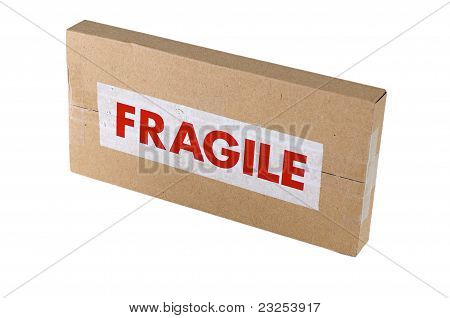 Fragile Cardboard Box