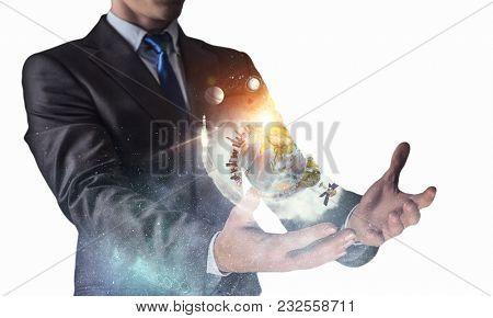 Space power in hands